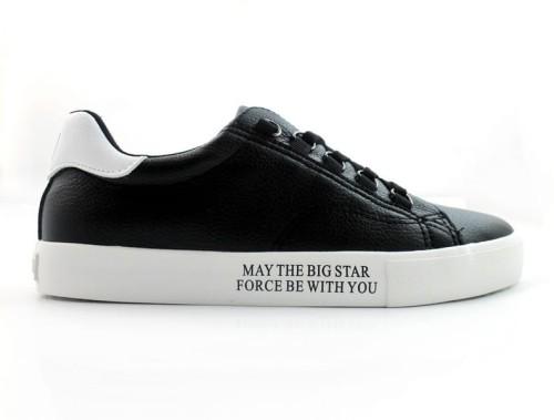 buty sportowe męskie BigStar EE174336 czarne trampki